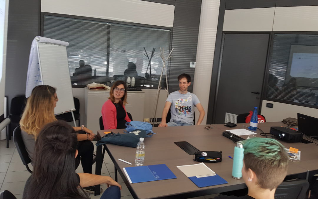 During the third workshop in June, participants have developed their Business Model Canvas.