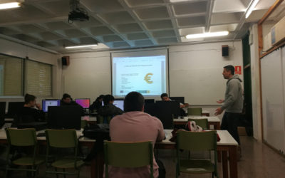 First training sessions in social entrepreneurship in IES Les Vinyes