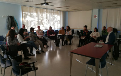 Train the trainers in Barcelona